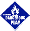 PAINTBALL DANGEROUS PLAY